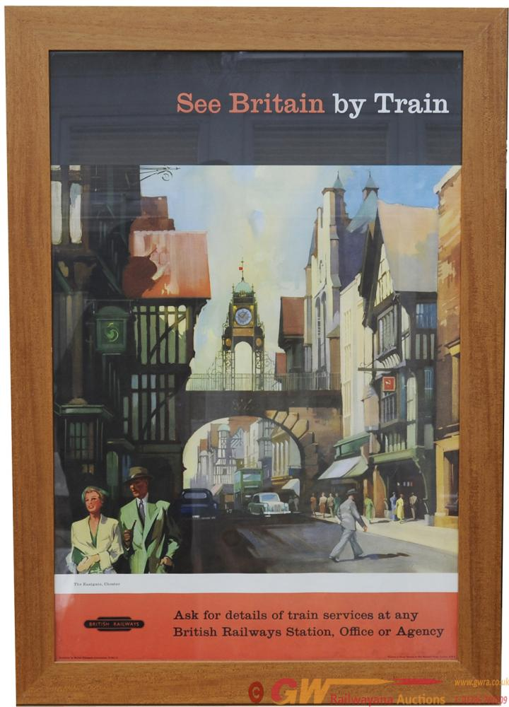 Poster, BR 'The Eastgate Chester' By Claude