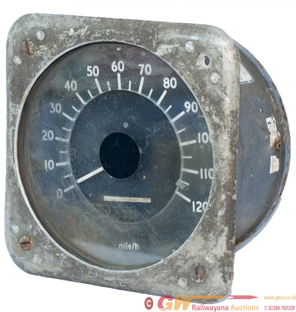 British Railways Class 87 Speedometer Complete