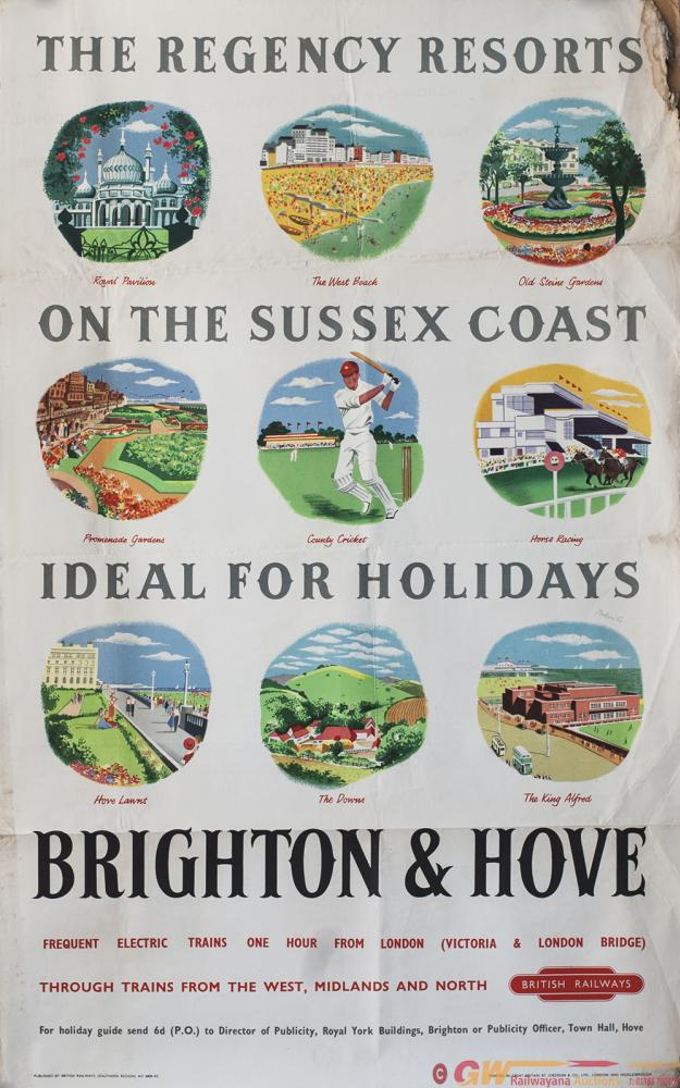 Poster BR(S) THE REGENCY RESORTS ON THE SUSSEX
