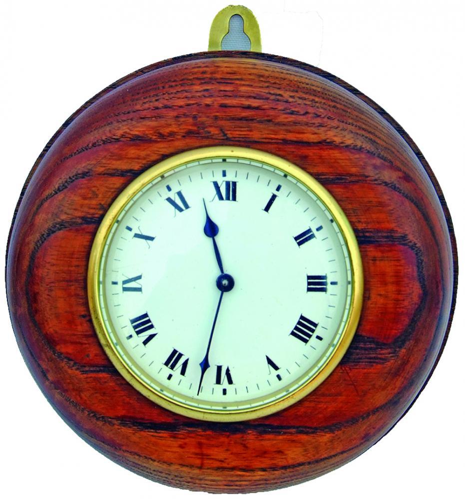 GWR 'Pork Pie' Office Clock, Numbered GWR 0105 On