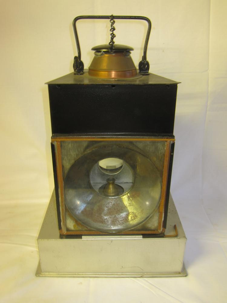 Large Welch Patent Lamp Interior For A Track