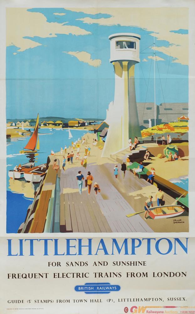 Poster - 'Littlehampton For Sands And Sunshine -