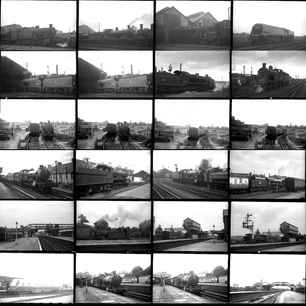 Approximately 130 35mm Negatives. Taken In 1952