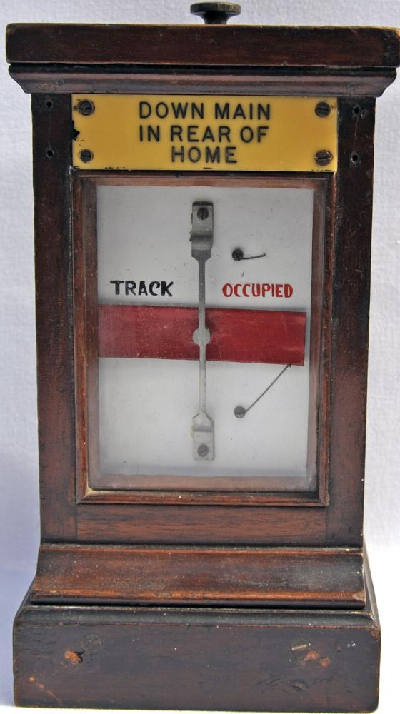 GWR Wood Cased Track Circuit Indicator