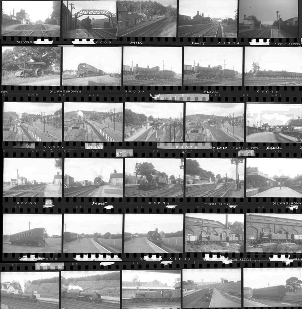 Approximately 55, 35mm Negatives. Includes Seaton,