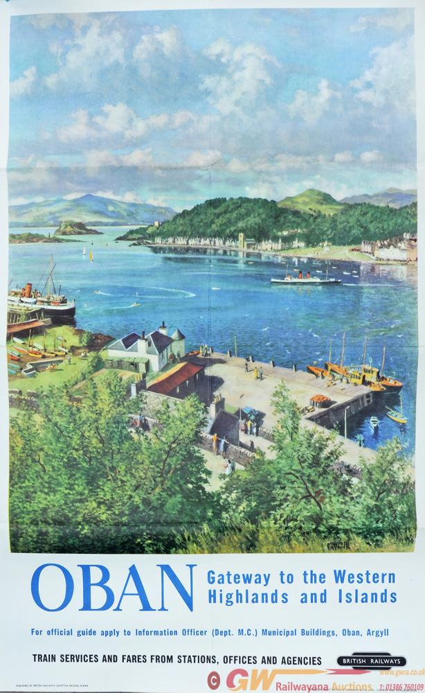 Poster 'Oban - Gateway To The Western Highlands