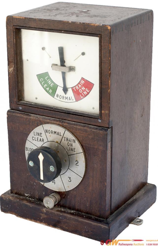 GWR Mahogany Cased 1947 Single Line Permissive