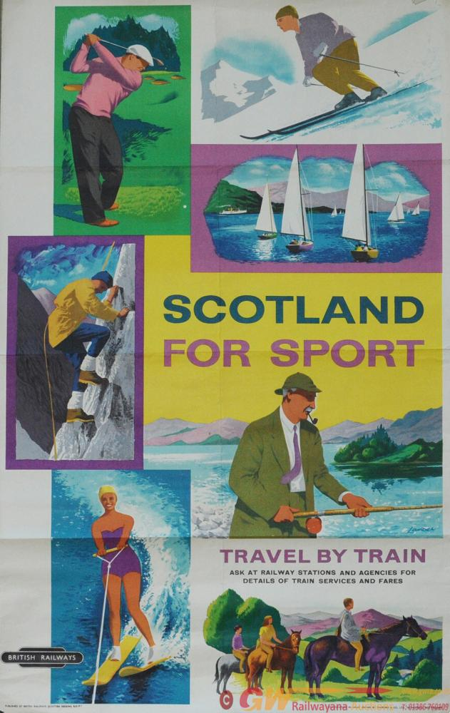 Poster BR(Scottish Region) 'Scotland For Sport