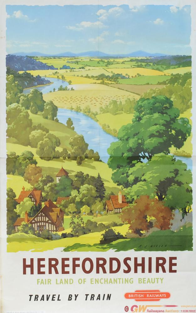 Poster - 'Herefordshire - Fair Land Of Enchanting