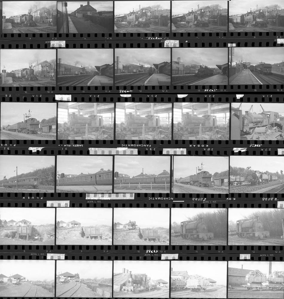 Approximately 77, 35mm Negatives. Includes Corfe