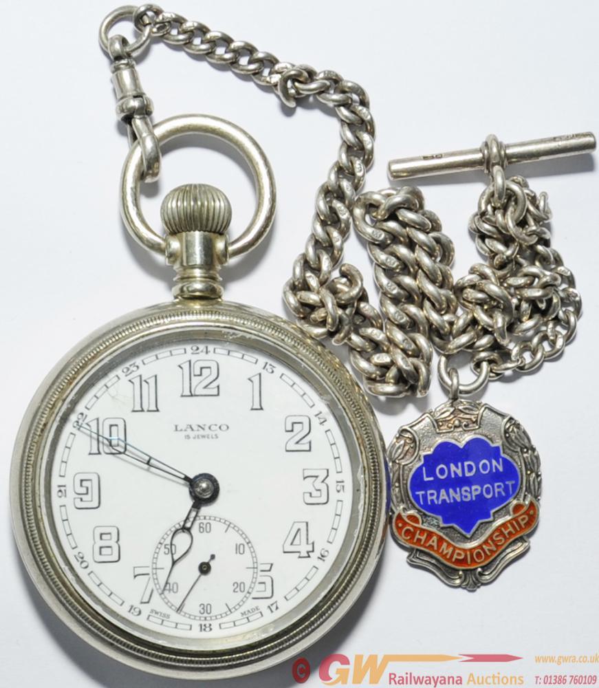 London Passenger Transport Board Pocket Watch,