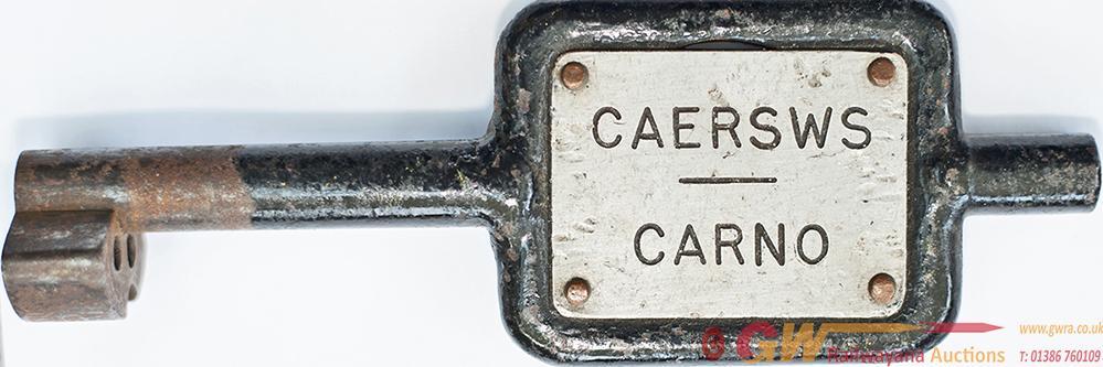Tyers no9 Single Line Steel Key Token