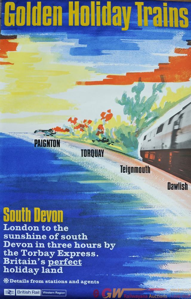 Poster BR(W) 'South Devon', Double Royal Size 40 X