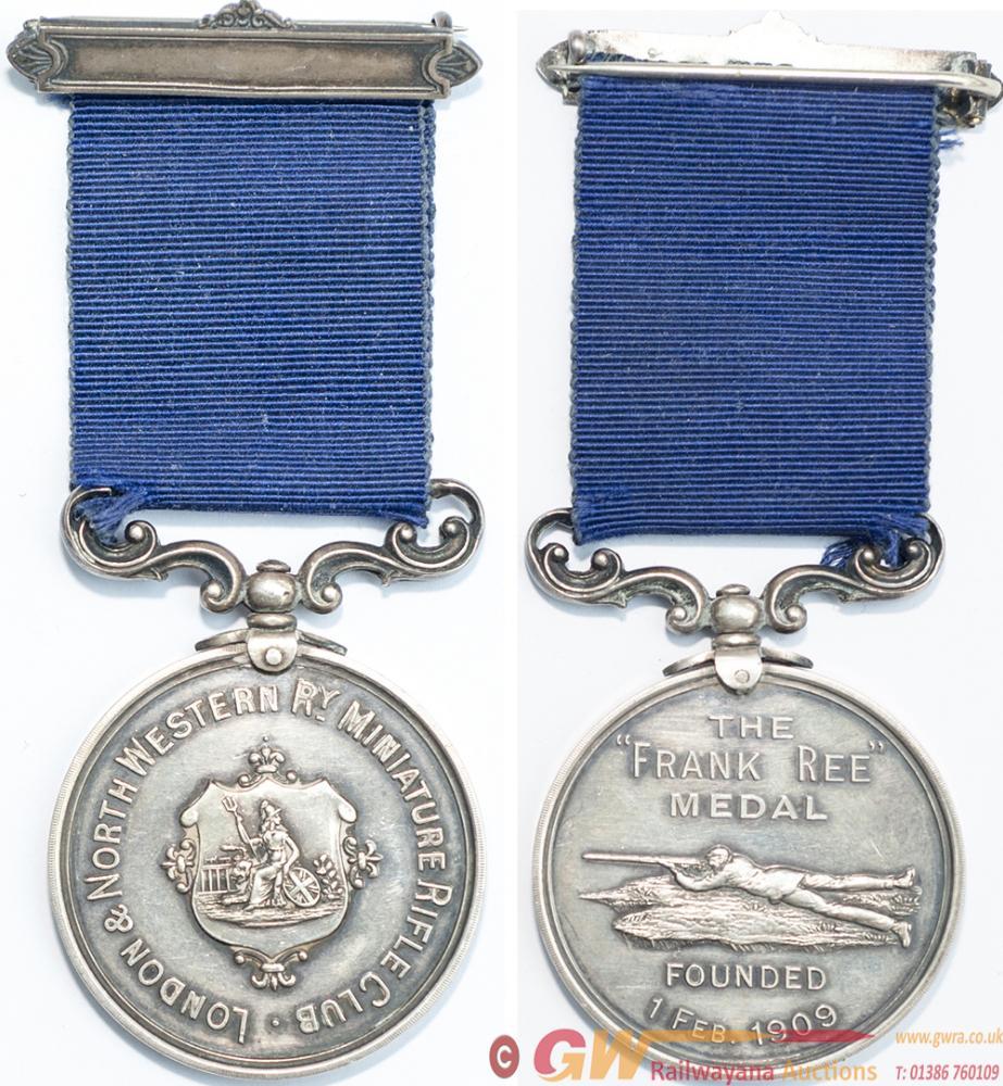 LNWR Silver Medal LONDON & NORTH WESTERN Ry