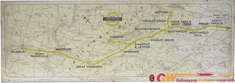 METROPOLITAN LINE, LONDON UNDERGROUND Carriage