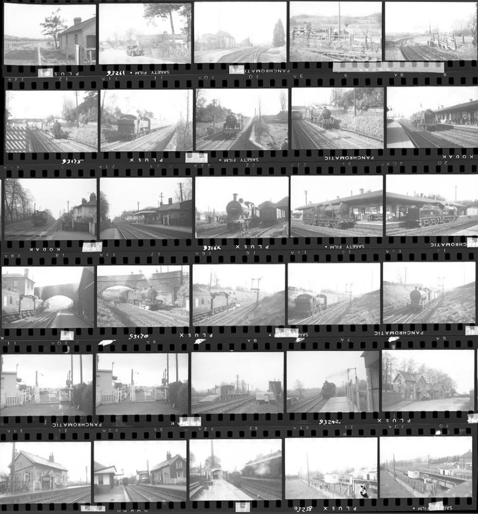 Approximately 89, 35mm Negatives. Includes
