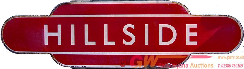 Totem, BR(M) HILLSIDE, H/F. Ex L&YR Station,