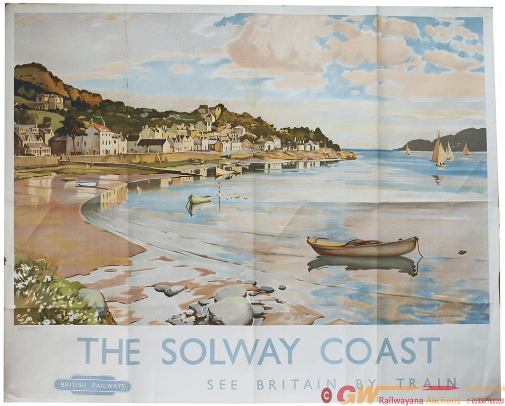 Poster BR(SC) THE SOLWAY COAST SEE BRITAIN BY