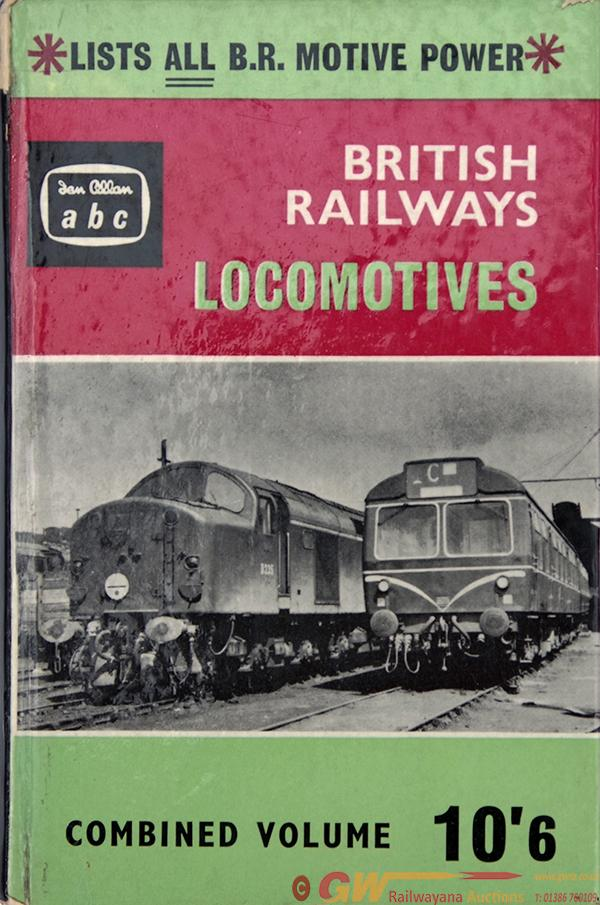 Ian Allan Combine Of British Railways Locomotives,