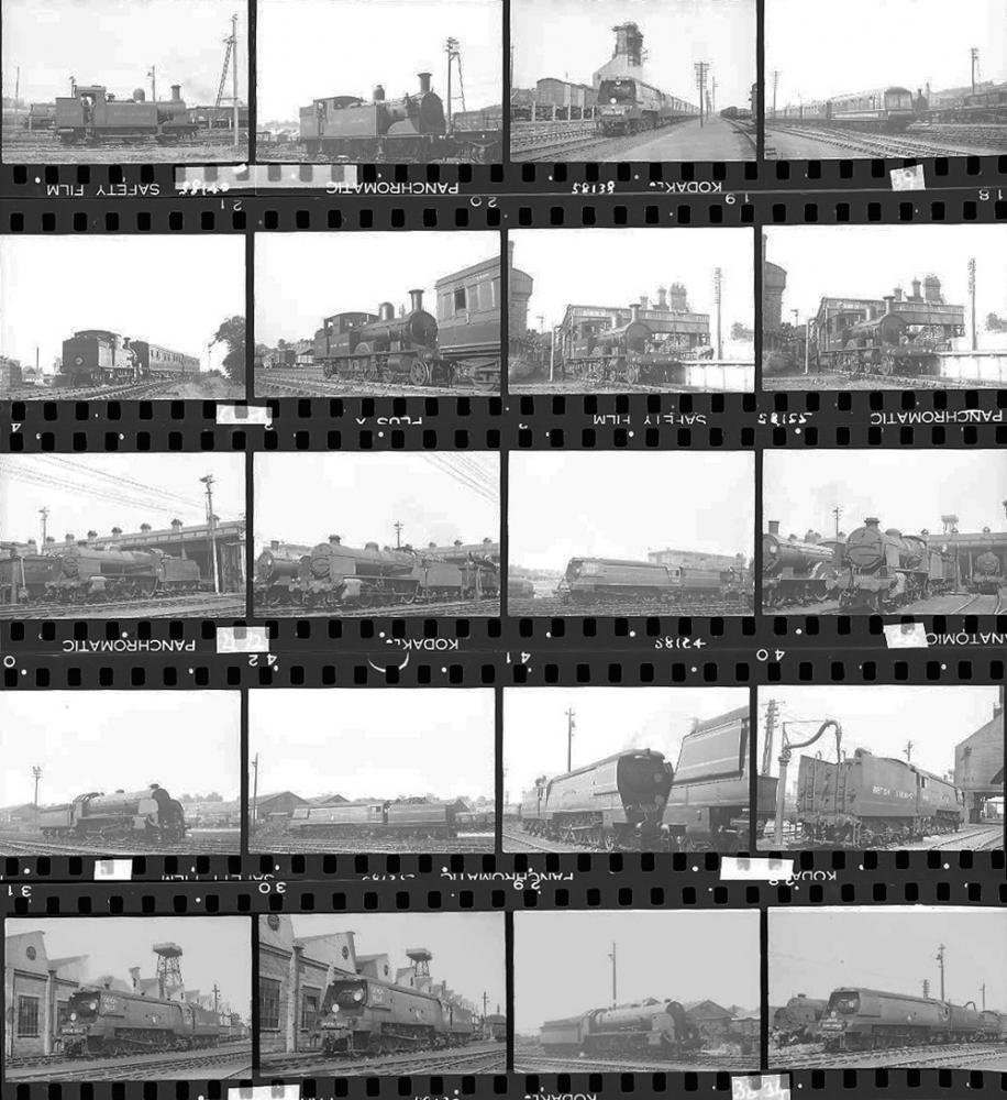 Approximately 75, 35mm Negatives. Includes Exeter,