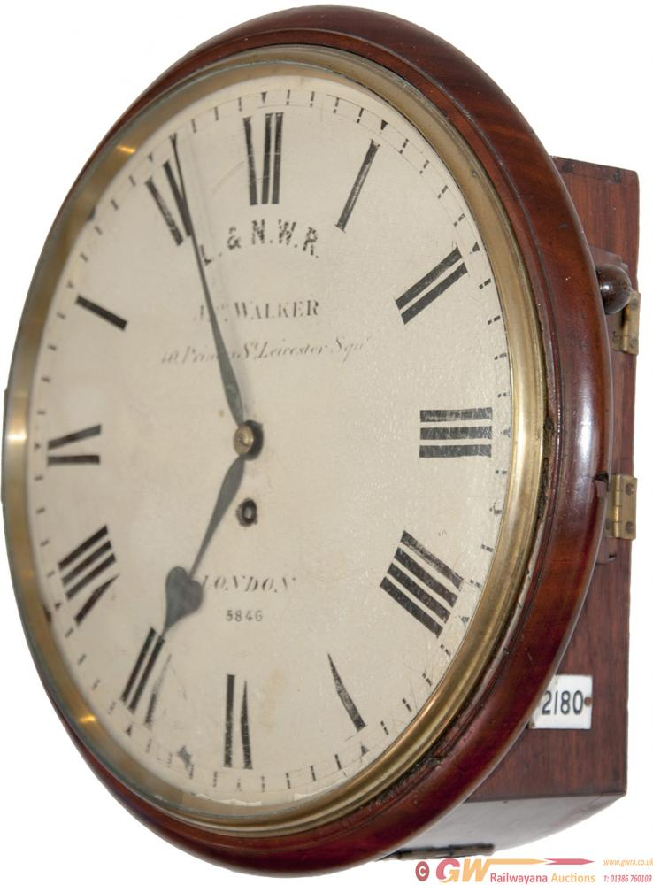London And North Western Railway 12 Inch Dial