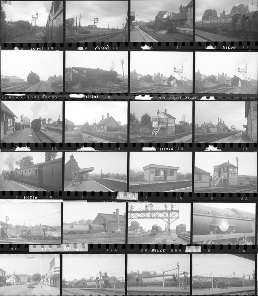 Approximately 55, 35mm Negatives. Includes Mostly