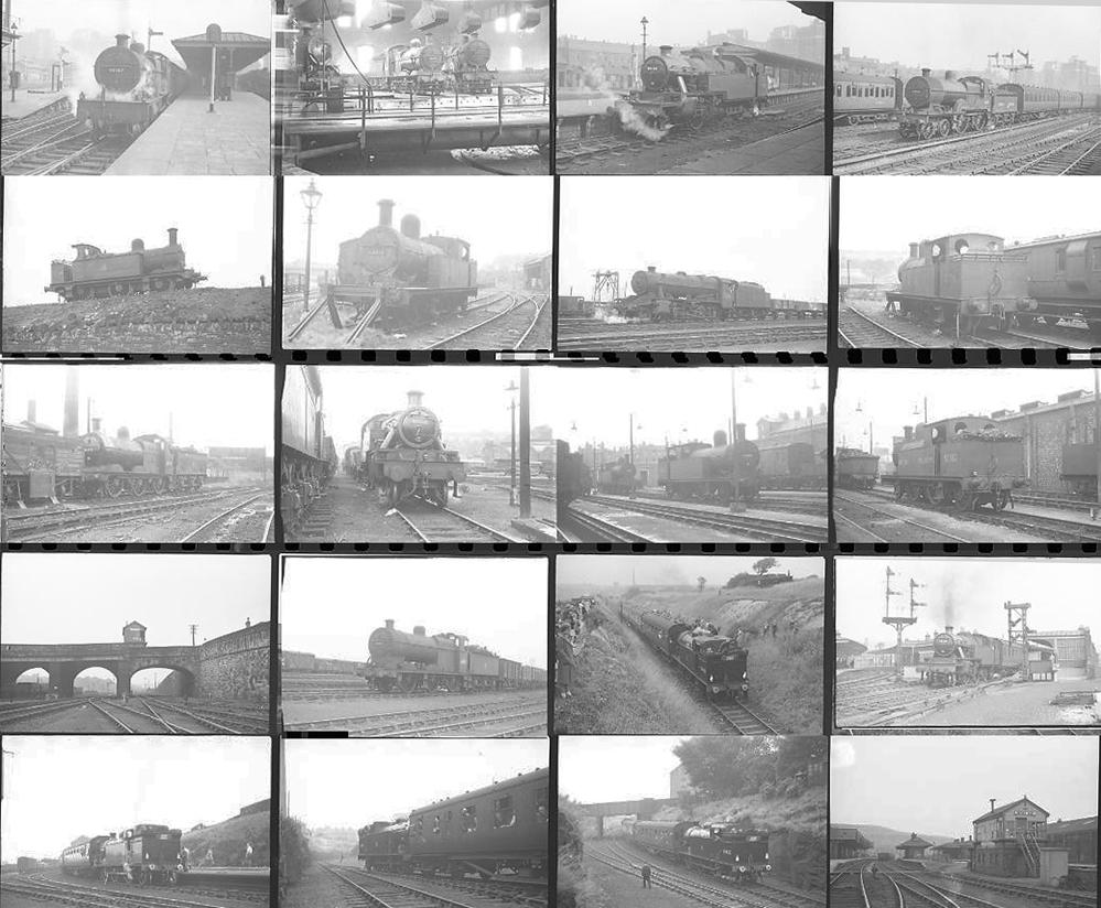 Approximately 96, 35mm Negatives. Includes Leeds