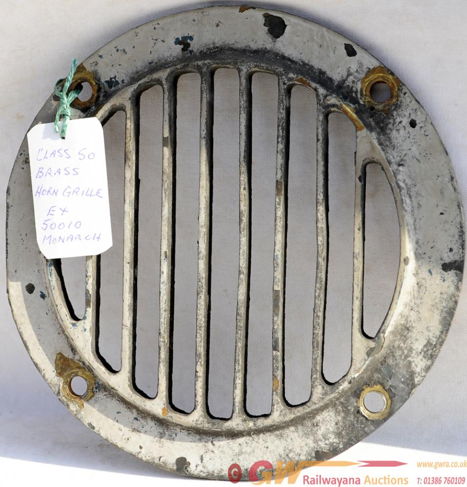 Original Horn Grill From Class 50 Number 50010
