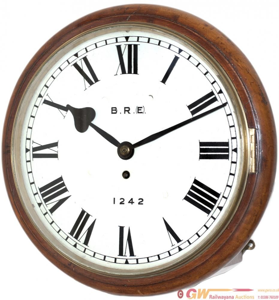 Great Eastern Railway 12in Dial Mahogany Cased