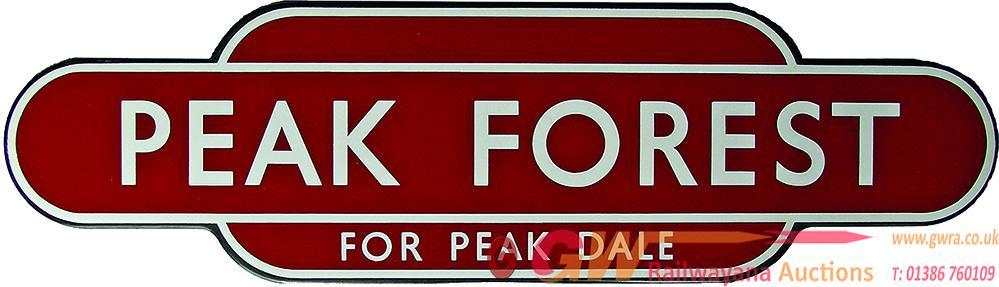 Totem, BR(M) PEAK FOREST FOR PEAK DALE, F/F. Ex