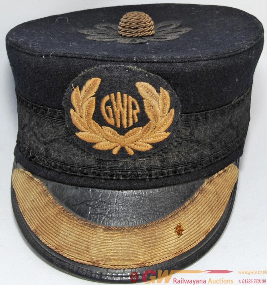 GWR 'Pillbox' Station Staff Hat. A Fine Example Of