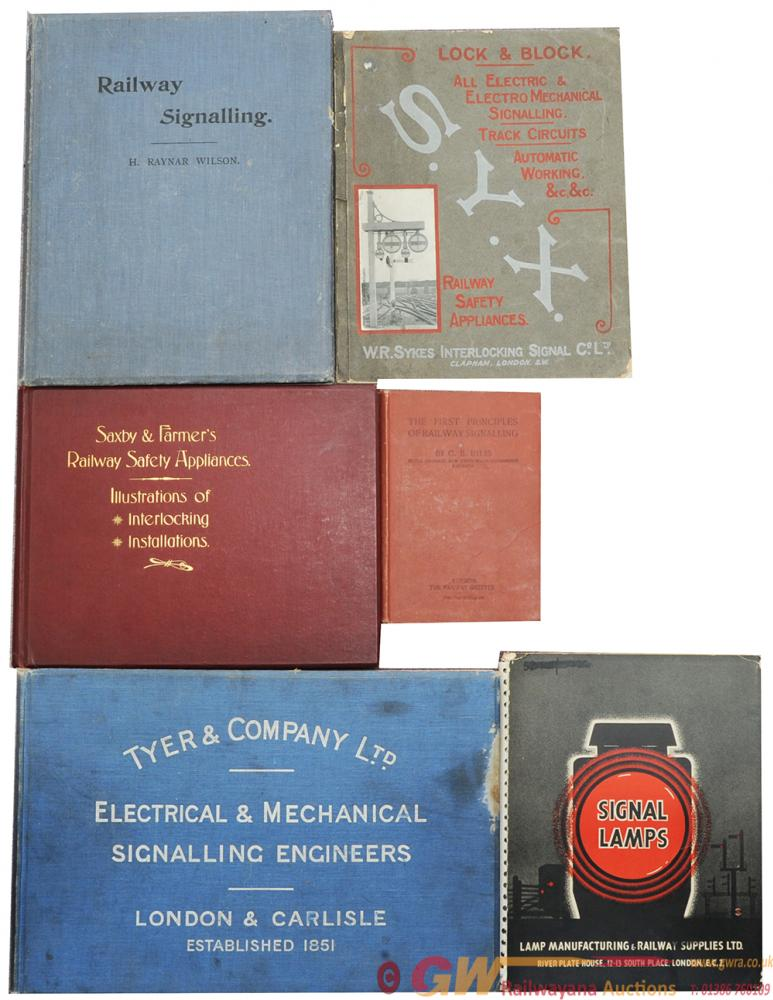 A Selection Of Signalling Catalogues, Some