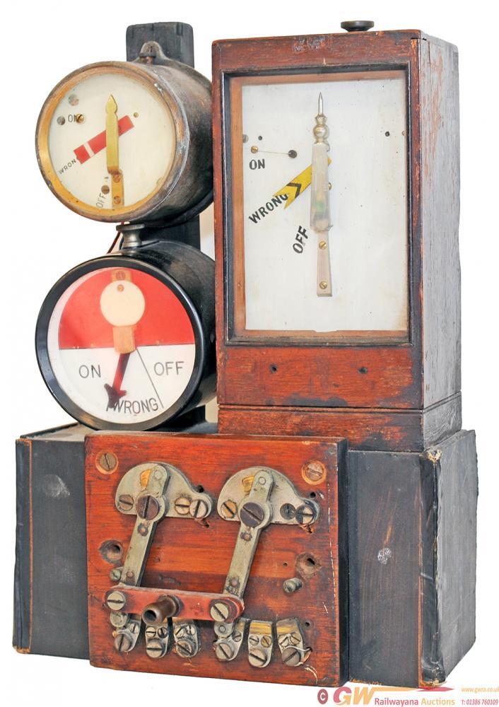 Interesting Signal Box Instrument Comprising A