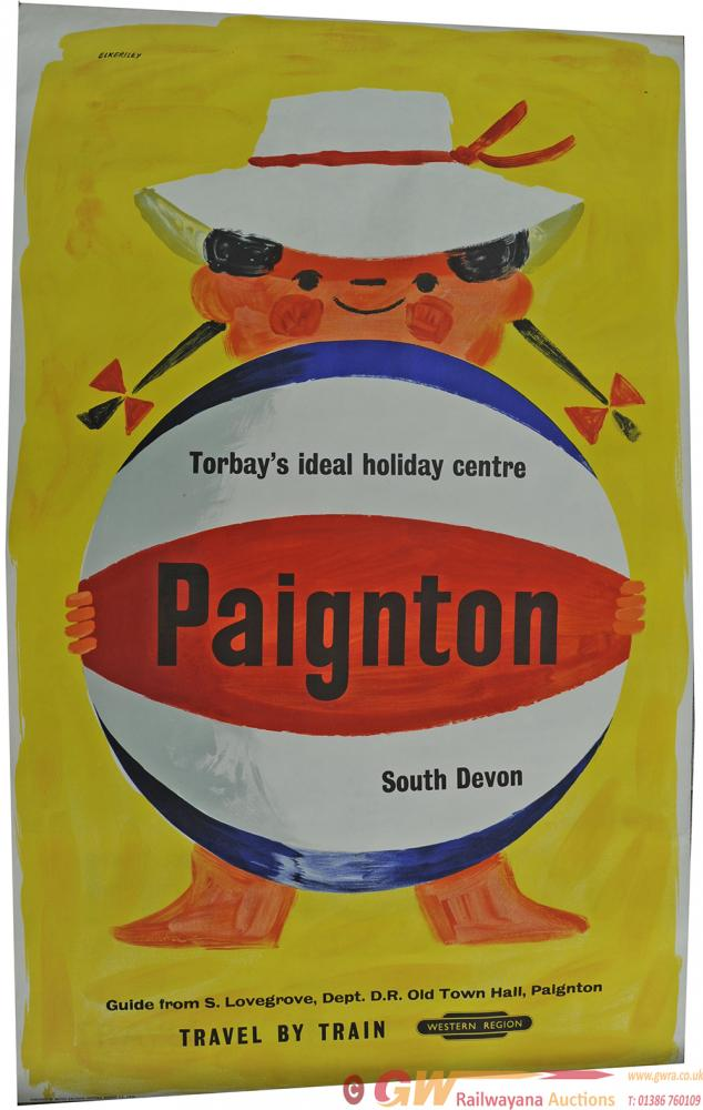 Poster BR 'Paignton' By Eckersley, Double Royal