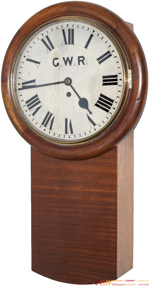 Great Western Railway 12in Dial Mahogany Cased