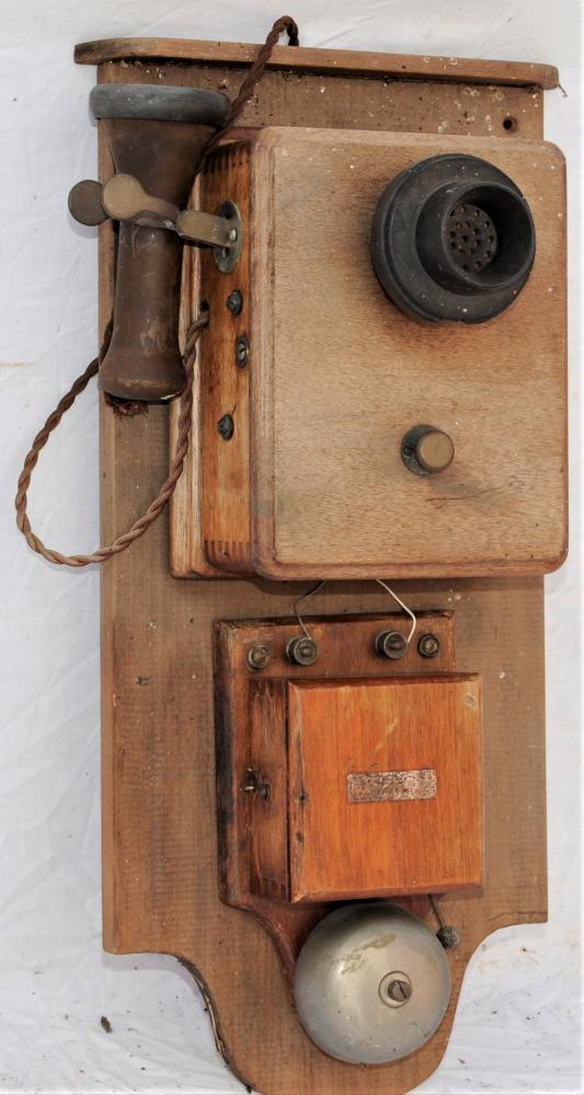 Railway Signal Box Or Office Telephone Mounted