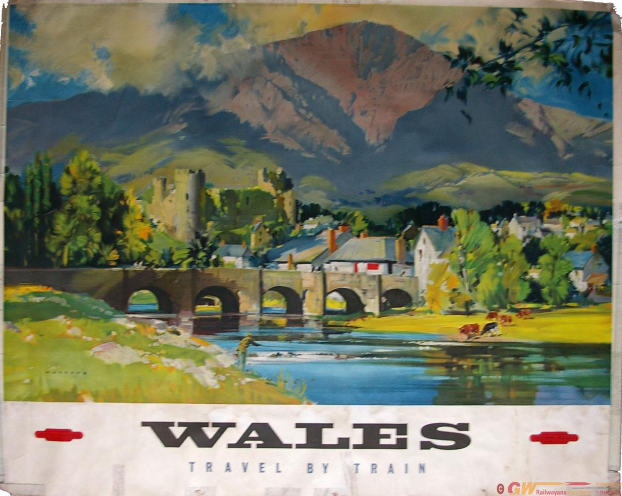 Poster, British Railways(W) Q/R 'Wales' By Wooton.
