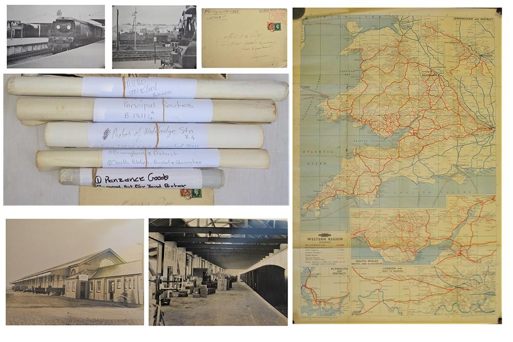 A Lot Containing 6 X Rolls Of Railway Related