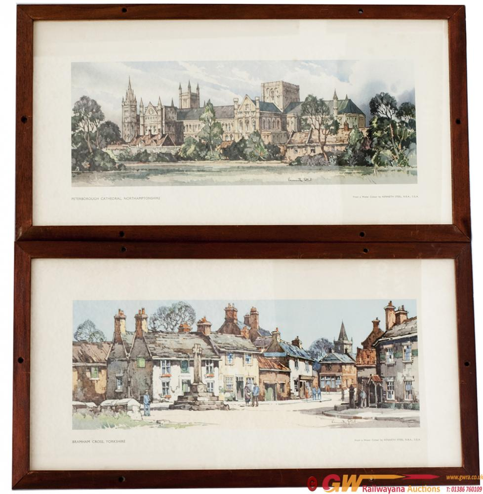 A Pair Of Carriage Prints Both From The LNER Post