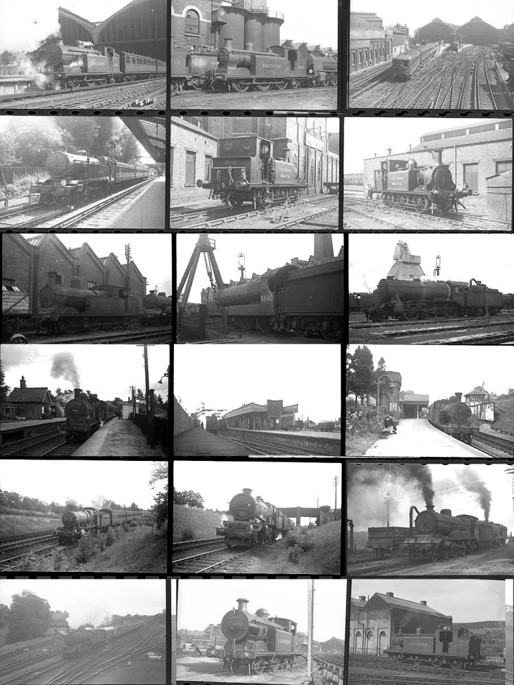 Approximately 111 35mm Negatives. Taken In 1946