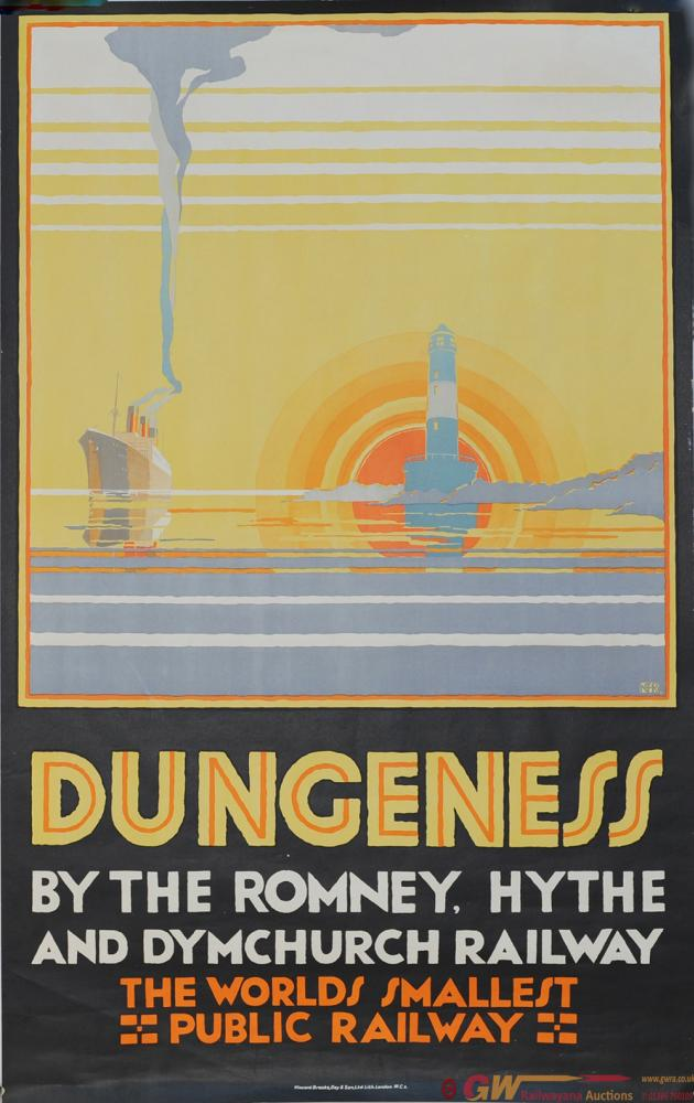 Romney Hythe & Dymchurch Poster 'Dungeness By The