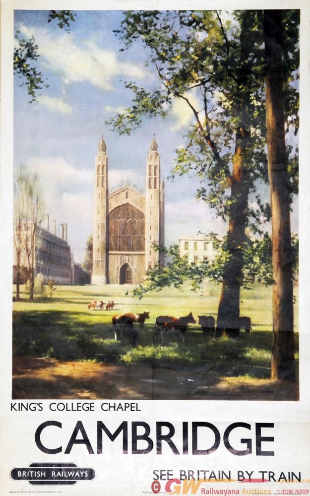 Poster  BR(ER) 'Cambridge, King