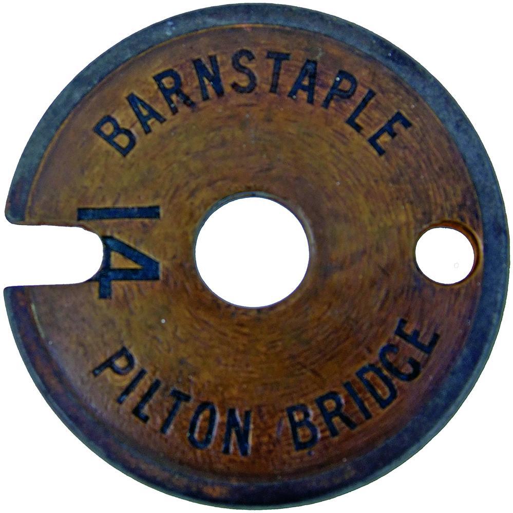 Lynton & Barnstaple Railway Brass And Steel Tyers