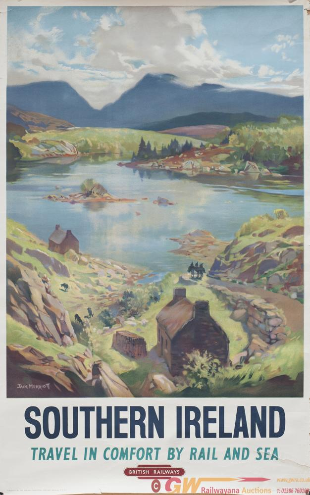 Poster BR SOUTHERN IRELAND By Jack Merriott.