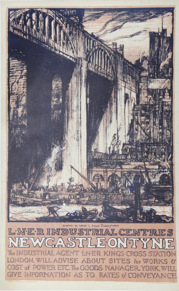 Poster LNER 'Industrial Centres -