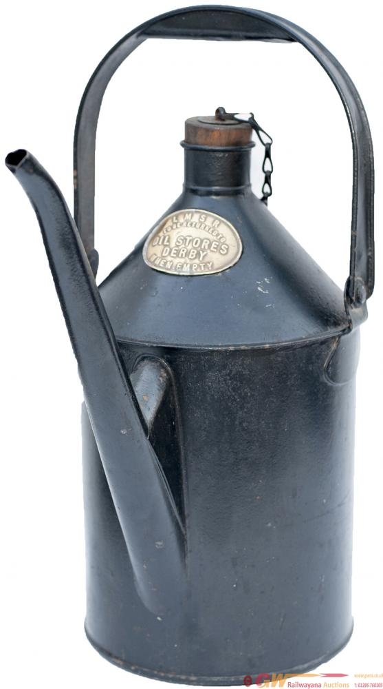 LMS Oil Can With Carrying Handle And Long Pouring