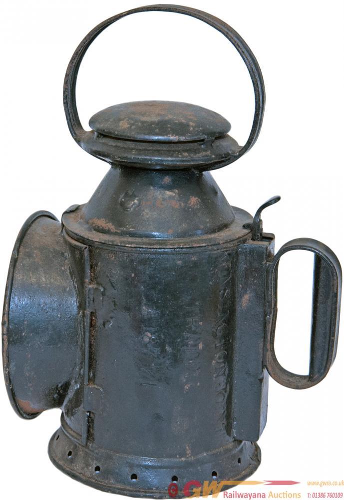 L&NWR 3 Aspect Handlamp With Original Reservoir