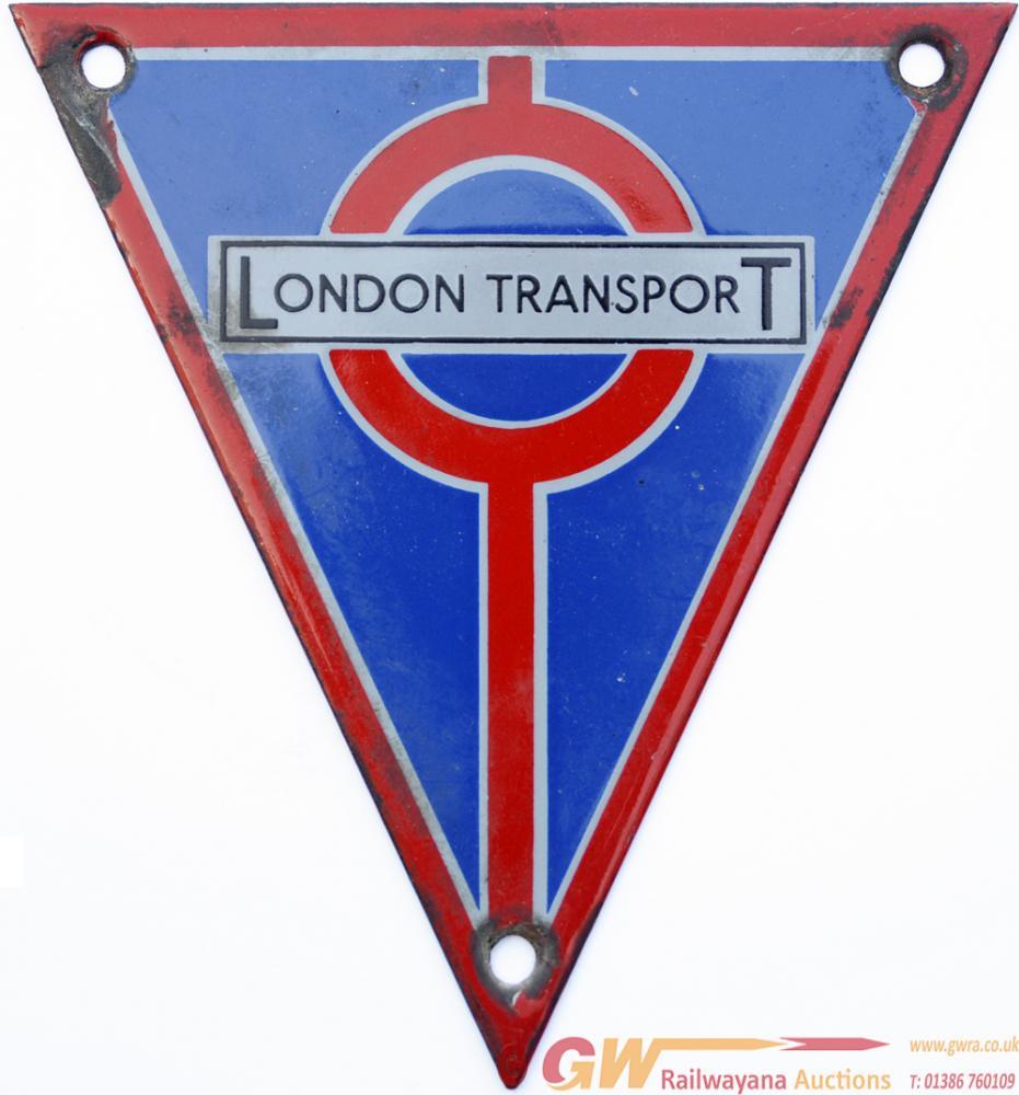 London Transport Bus Radiator Triangles, Qty 2.