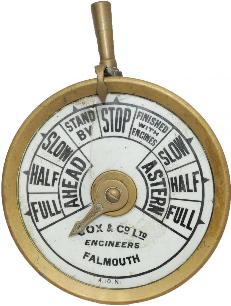 Ships Control Instrument Manufactured By Cox & Co