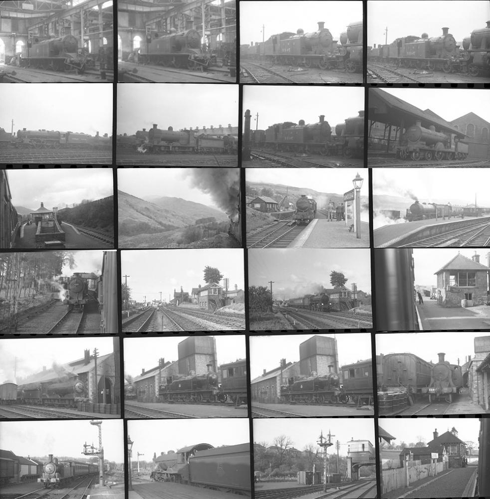 Approximately 110 35mm Negatives. Taken In 1952